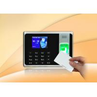 Simple Fingerprint Access Control With 2.8 Inch TFT Screen / Self - Service Report Manufactures