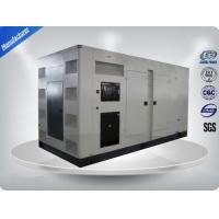 375Kva Three Phase Silent Diesel Generator Set With Water Cooling System Manufactures