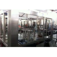 Pulp / Granule Juice Food Filling Machine 3 In 1 Juice Bottling Equipment Manufactures