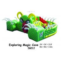 Exploring Magic Cave Inflatable Plagroungd Equipment With Small Slide For KIds Manufactures