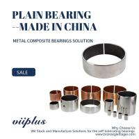 Metric Standard Size Available Cylindrical Bearing Composite Bushing Manufactures