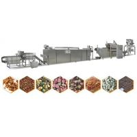 Stainless Steel 304 Pet Food Extrusion Equipment Full Automation Type Manufactures