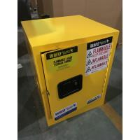 Buy cheap Single Door Fireproof Paint Storage Cabinets With Grounding Wire Connector from wholesalers
