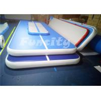 Durable Jumping Inflatable Air Gymnastics Balance Beam With 0.6mm Pvc Tarpaulin Manufactures