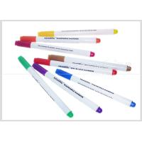 Multi-Color Washable Fabric Whiteboard Marker Pens 1.0mm Fiber Tip For Temporary Drawing #WM10 Manufactures