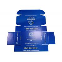Quality Coated Paper Custom Printed Mailer Boxes , Garment Storage Mailing Cardboard Boxes for sale