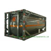 316 Stainless Steel ISO Tank Container 20 FT For Hazardous Liquids Road transport Manufactures