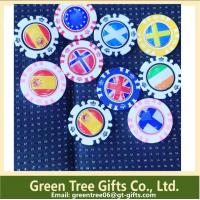 Factory make high quality custom round Custom poker chips and casino chip Manufactures