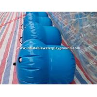 Quality Commercial Rent Inflatable Water Roller With 0.8mm PVC Tarpaulin Plug for sale