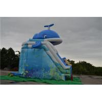 Blue Inflatable Sports Games Double & Triple Stitches Seams Manufactures