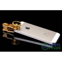 180° Fisheye, 0.65x Wide Angle, 10x Macro for Most Mobile phones phone lense Manufactures