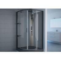 Black Frame Free Standing Shower Stall 800 X 800 Pivot Hinge Shower Door Manufactures