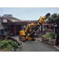 1.1m Cylinder Stroke Hydraulic Piling Rig For 16m Max  Drilling Depth 1.2m Diameter Manufactures