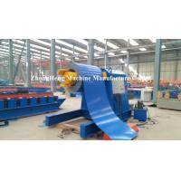 Auto Single Unrolling Horizontal Coil Hydraulic Decoiler Machine With Pressing Arm Manufactures
