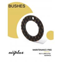 High Load Impact Vibration Resistant  Composite Inch Dimension Thrust Washer Copper Sleeve BLACK POM Bushings Manufactures