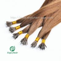 """Nano Ring Hair Extensions16''- 26"""" 100% Human Indian Remy  Hair 8# color hair extension Manufactures"""