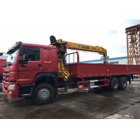 10 Wheels 10T Mobile Crane Truck , Crane Lift Truck High Capacity For Construction Manufactures