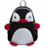 Black Pretty Toddler Book Bag Reduced Pressure Shoulder Straps Penguin Design Manufactures