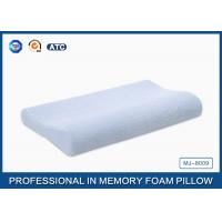 Quality Soft Pure Comfort Memory Foam Contour Pillow With Cotton Velour Pillowcase Cover for sale