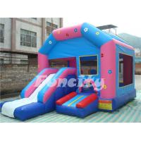Clown 0.55mm PVC Tarpaulin Inflatable Combo Bouncer for Outdoor Amusement Manufactures