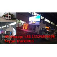 Jmc LHD mobile digital billboard LED advertising vehicle for sale, hot sale high quality and best price JMC LED truck Manufactures