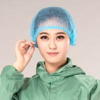 White color and blue color Disposable Non-woven Surgical Caps Disposable Manufactures
