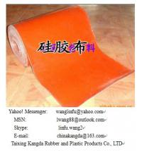 Quality hi-temperature silicone coated fiberglass fabric for sale