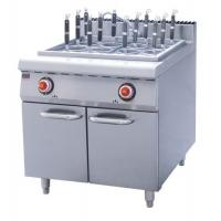 Silver 15L Electric Pasta Cooker With Cabinet ZH-RM-12 , LPG Gas For Restaurant Manufactures