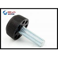 Round Leg Furniture Fittings Hardware Plated Chrome Adjustbale Desk Feet Support Manufactures