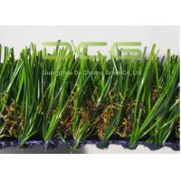 PE Material Artificial Turf Landscaping / Synthetic Turf Grass For Roof