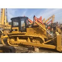 New Painting Second Hand Bulldozers Caterpillar D6G , Small Crawler Dozer Manufactures