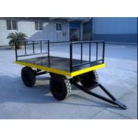 Strong Electric Platform Truck 3 Ton Loading Capacity 10# channel steel Material Manufactures