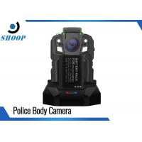 Quality 16GB Security Portable Body Camera , 1950mAh Battery Police Body Worn Video Camera for sale