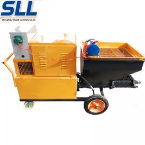 Buy cheap CE Certificate Gypsum Cement Rendering Spray Machine Adhesive Plaster Machine from wholesalers