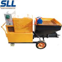 High Efficiency Mortar Spraying Machine Automatic Plastering Machine For Exterior Wall Manufactures