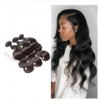 Body Wave Bundles For One Women Head Malaysian Hair Extensions No Shedding Manufactures