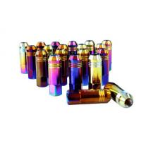 Alloy / Carbon / Stainless Steel Auto Lug Nuts For Rims 60mm , 12 Months Warranty Manufactures