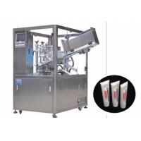 25-250 ml Cosmetic Filling Machine / Automatic Tube Filling And Sealing Machine Manufactures