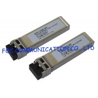 China 850nm SFP Optical Transceiver 10Gbps Multimode 300M For Fiber Network on sale