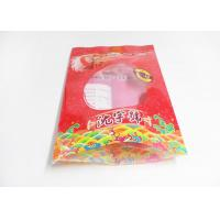 Heat Sealable Flat Bottom Stand Up Plastic Bags For Food Packaging , Snack pouches Manufactures
