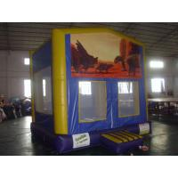 Custom indoor Inflatable Sports Games , Bouncer Houses For Adults / Kids Manufactures