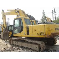 Used 22 Ton Komatsu 220 Excavator Good Condition With1.4cbm Bucket Capacity Manufactures