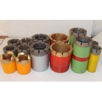 Quality Impregnated Core Bits / Granite Core Drill Bits With Hard Matrix for sale