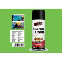 Jade Green Color Graffiti Spray Paint High Coverage For Motorcycle Surface Decoration Manufactures