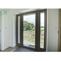 Interior Aluminium Casement Door 70 Series waterproof with Single / Double Glazed Glass Manufactures
