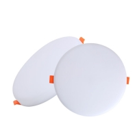 Anti Glare 18W Square Frameless Led Flat Panel For Downlights Manufactures