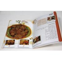 Quality Commercial Cook Saddle Stitch Book Binding , CMYK Full Color Offset Printing for sale