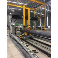 Gantry Positioning H Beam Assembly Machine For Pole Lamp Post Flange Fitting / Welding Manufactures