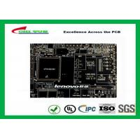 Black Solder Mask Multi Layer PCB FR4 TG150 for Lenovo Circuit Board Manufactures
