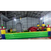 PVC Red Inflatable Sport Games / Funny Bouncy Jumping Castles Manufactures